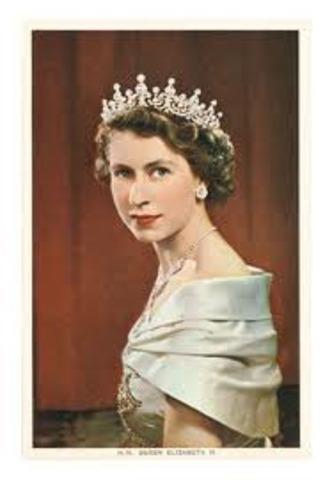 New Queen of England