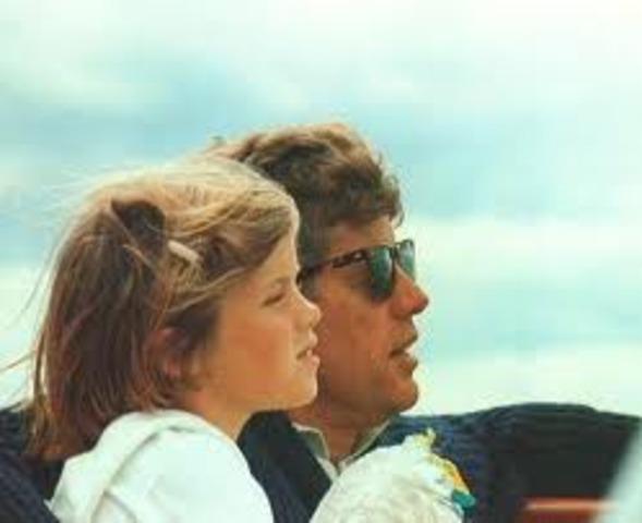 Birth of Caroline Kennedy