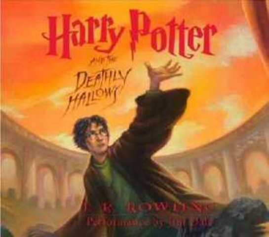 The last Harry Potter book