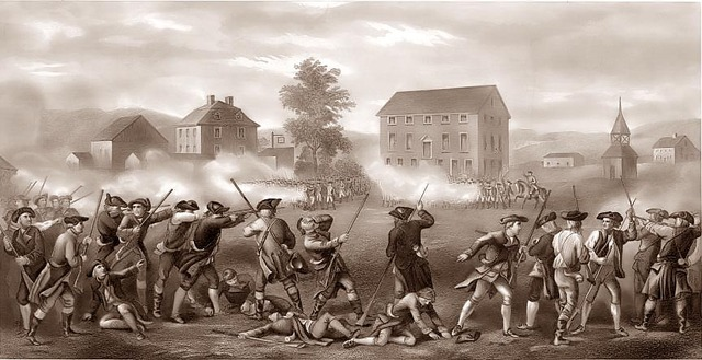 Battle of Lexington and Concord - Taylor Locke