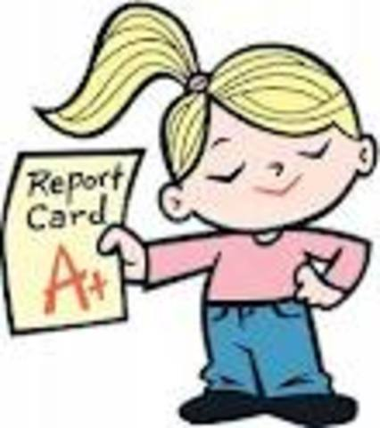 The First Quarter report card.