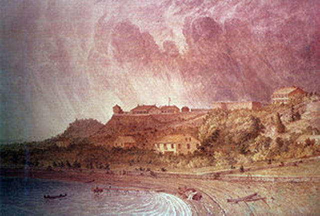 The Siege of Fort Mackinac