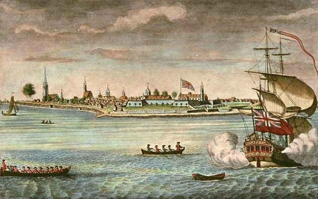The Capture of Fort George