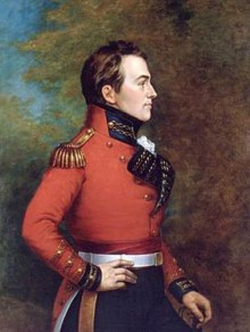 General Isaac Brock is killed at the Battle of Queenston Heights