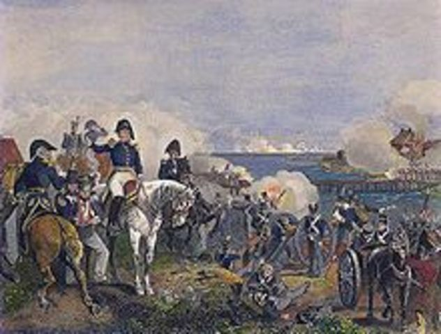 The Battle of Plattsburg on Lake Champlain