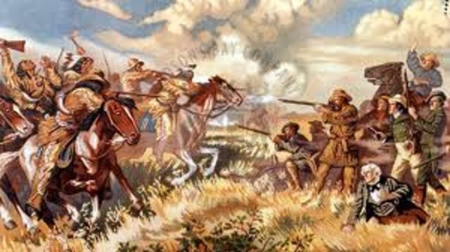 The Battle of Seven Oaks