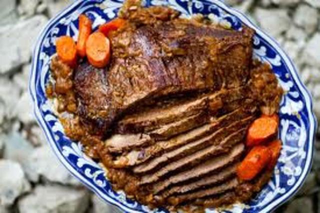 Pot roast leads to pot luck!