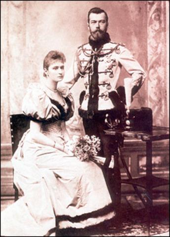 Nicholas II and Alexandra are Married
