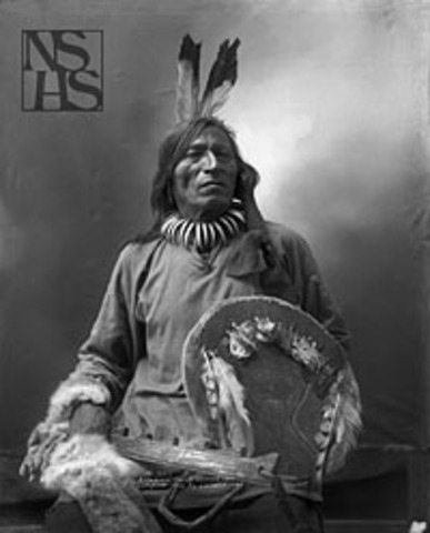 Encounter with Teton Sioux Native Americans