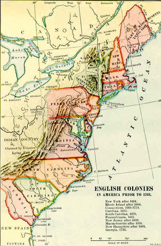 New Jersey was formed