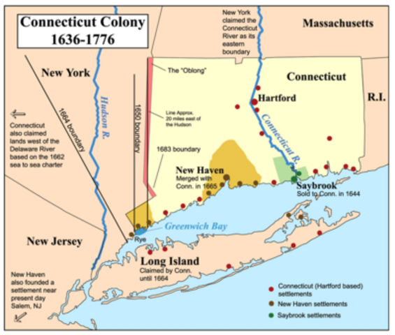 Connecticut was formed