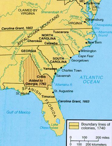 North Carolina was formed
