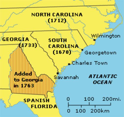 South Carolina was formed