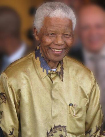 Nelson Mandela (Afrique du Sud)
