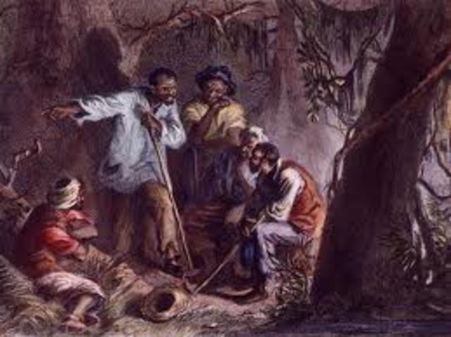 Nat Turner's Rebellion-Virginia