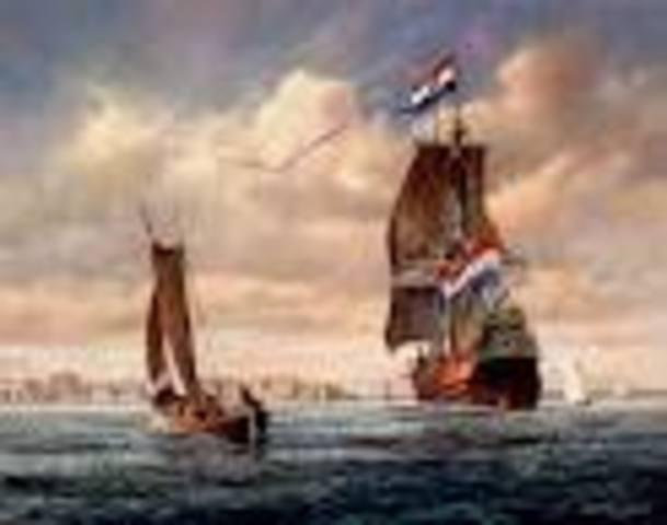 Christopher Columbus First Sea Battle
