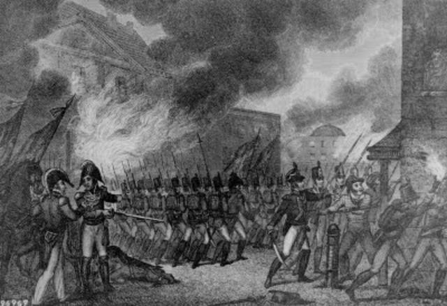 British Capture Charleston (Jordan Beckner)