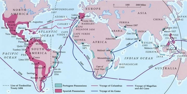 Ferdinand Magellan leads a Spanish expedition to the Philippines