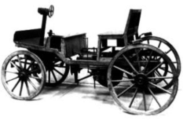 3) Diffusion: First Marcus car runs on gasoline