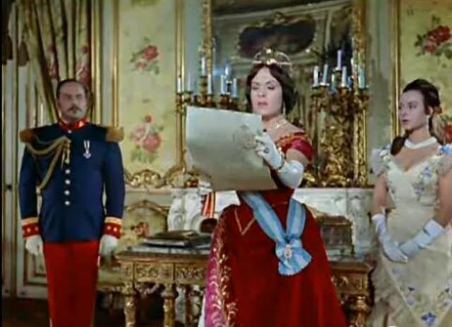 Isabell II ha abdicado en su hijo, Alfonso