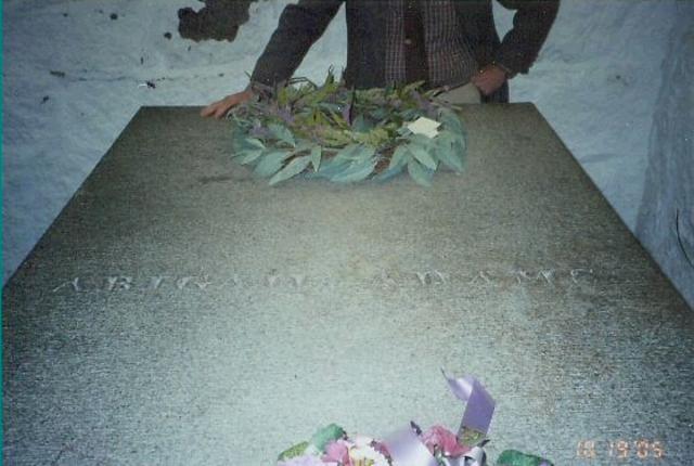 Abigail Adams died