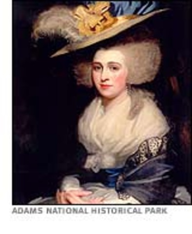 Abigail had a baby girl, who she named, Nabby
