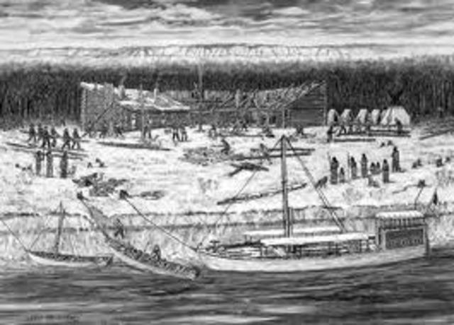 Fort Mandan is made