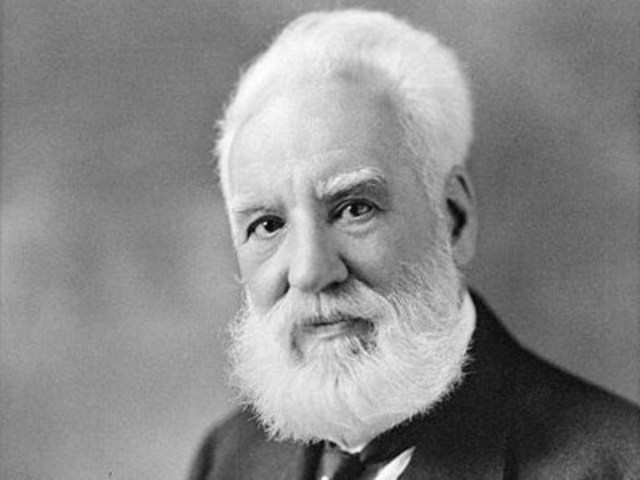 Alexander Graham Bell invents the telephone