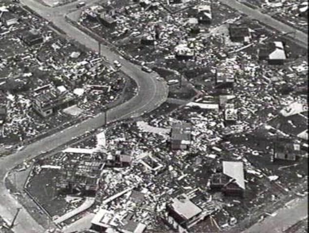 Cyclone Tracy Flattens Darwin