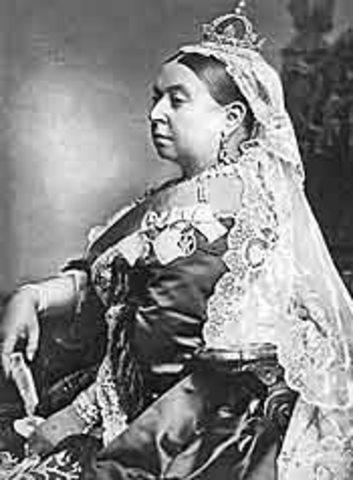 Queen Victoria Dies after 63-year reign