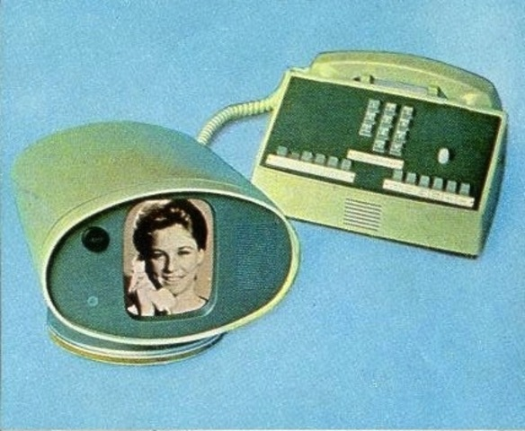 The first commecially-available videophone is invented