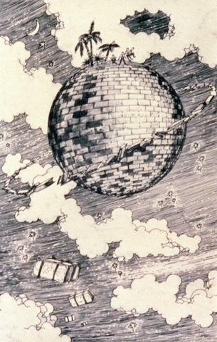 "Publishment of ""The Brick Moon"" by Edward Everett Hale"