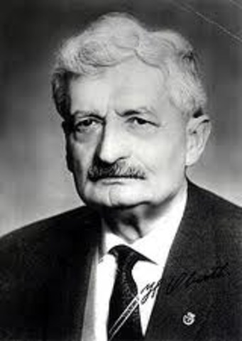 """Publishment of """"The Rocket Into Interplanetary Space"""" by Hermann Oberth"""
