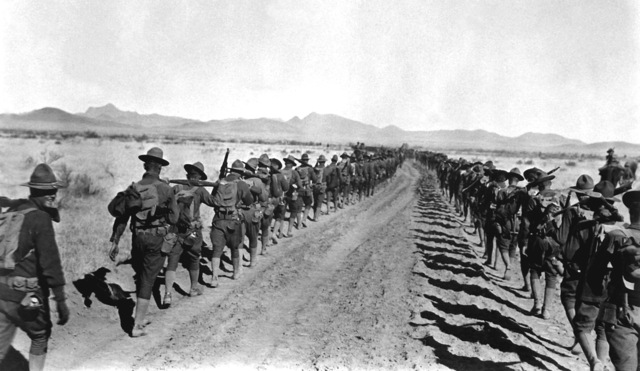World War I ends the chase for Pancho Villa