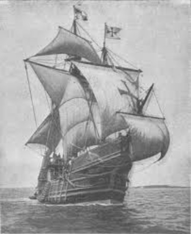 The Pinta has its Rudder Repaired