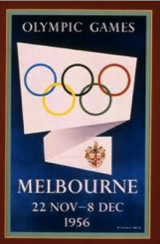 Melbourne hosts Olympic games