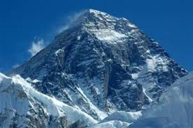 He climed the Nepal side of Mt. Everest