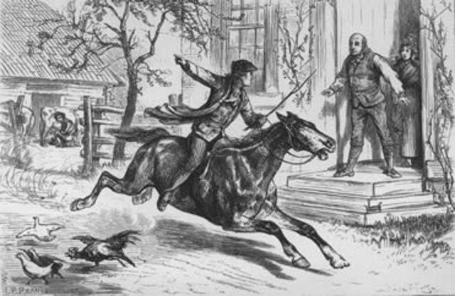 Paul Revere's Ride (Kayla Hannah)