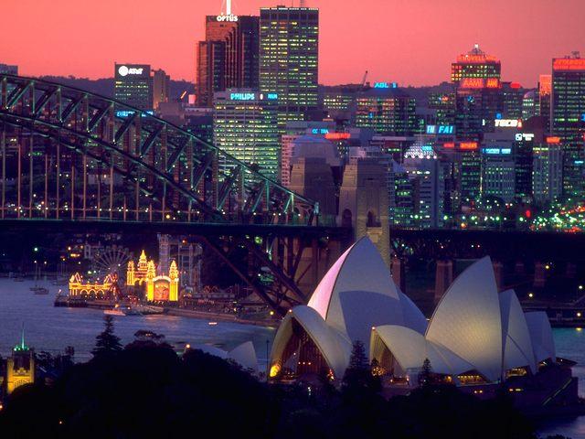 Move to Sydney, Australia