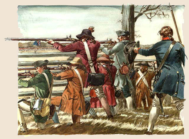 Battle at Guilford Courthouse (Yancey)