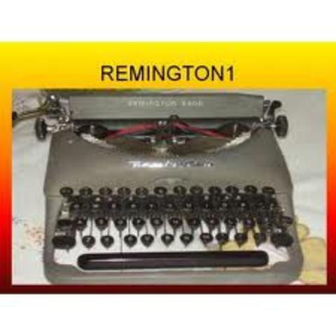 Historia de la Maquina de Escribir Remington