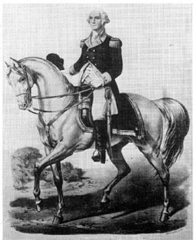 George Washington joined the army