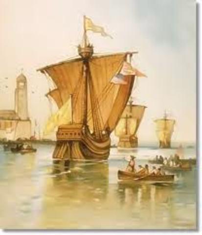 Columbus began his third voyage