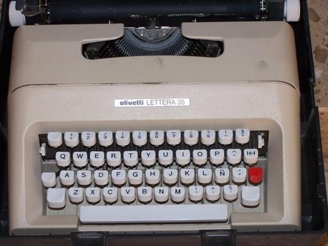 maquinas de escribir pequenas
