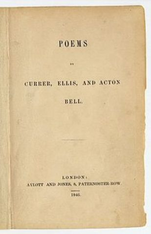 Bronte Sisters publish their poetry