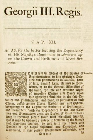 The Declaratory Act  (Owen)