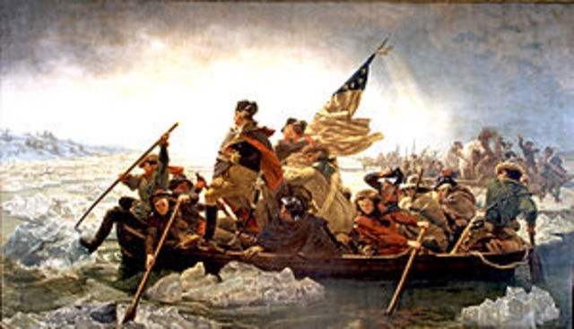 Washington Crosses the Deleware (Joshua Mallory)