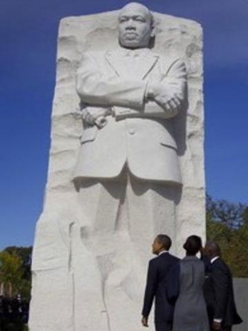National Memorial in Washington D.C. honoring Dr. Martin Luther King Jr.