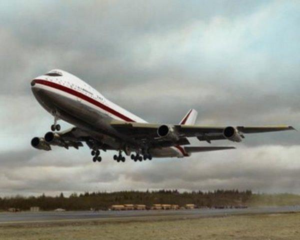 First Flight - Boeing 747