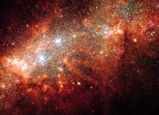 Birth of Stars and Galaxies at 23:07:38